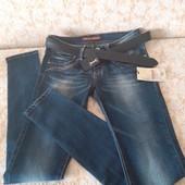 Акція!Гарні якісні джинси бренда Miss Lili Colection,p 28 пояс у комплекті