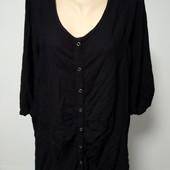 Люкс ! обалденная блуза/рубашка пог-66см р.54/56 оч.хорошего сост