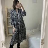 Платье миди ярусное Primark (uk 12,р.М)