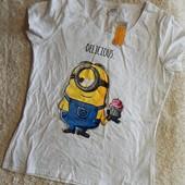 женская пижамная футболка Minions