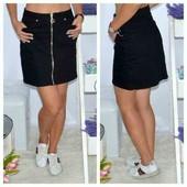женская юбка, цвет черный