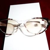 Очки лисички для зрения с диоптриями -1,5, тонировка
