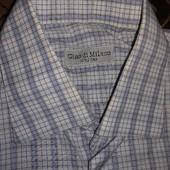 Чоловіча рубашка (довж.72, шир.53)