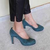 clark's  softwear 26.5 cm. натуральний замш