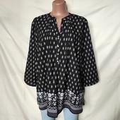 Очень красивая лёгкая блуза с камушками от George,в идеале!