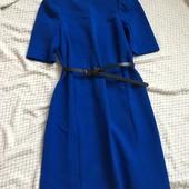 Шикарное платье , цвет электрик