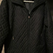 Куртка демисезонная чёрного цв.50-52р.