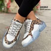 Стильные женские кроссовки на силиконовой подошве. бомба!