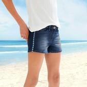 Бомбезні джинсові шорти на дівчинку підлітка, розміри 152, 158, 164 та 170 - підійде на дорослий S'