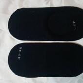 Livergy Германия Коттоновые низкие носки-следы 43-46р Лот 2 пары