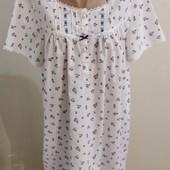 легкая ночная рубашка в отличном состоянии, р.16-18, фирма Н-М.