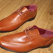 туфли мужские, эко кожа, новые. хорошее качество!