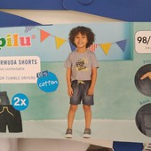 Набор ярких шортиков для мальчика от Lupilu, р 98-104