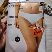 Германия!!! Красивые трусики, женские трусы с кружевными вставками! 2 шт! 48/50 евро!