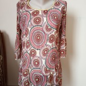 Гарна блузка туніка в ідеальному стані, 10% знижка на УП
