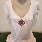 Гарна блузочка, колір пудри в новому стані, 10% знижка на УП
