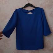 Красивая синяя блуза ! УП скидка 10%