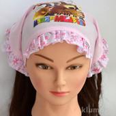 Косынка для девочки в лоте цвет розовый ог 46-50 см