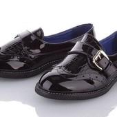 Туфли для девочки Канарейка. Кожаная стелька супинатор