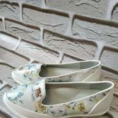 Туфли -мокасины девочка ) комфортные ) стелька супинатор