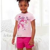 Літній костюм для дівчинки, розмір 110/116, бренд my little pony, германія