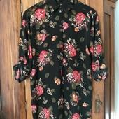 красивая цветочная рубашечка H&M (Xl)