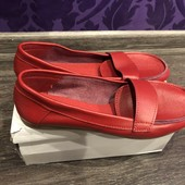 Балетки туфли лодочки кожаные новые 36 размер