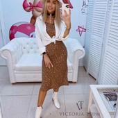Костюм платье+ белая рубашка