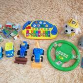Большой лот игрушек