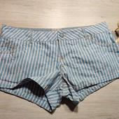 Pull & Bear! Короткие женские шорты, шортики! 38 евро, полномерные!