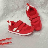 Дитячі кросівки червоні 29 р