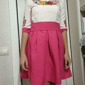 Платье вышиванка в українському стилі на S-M