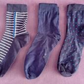 Лот 3 пары!!! Качественные хлопковые носки от tcm Tchibo (Германия), размеры: 39-42