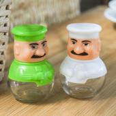 """Набор емкостей для соли и перца\специй """"Повар"""" - 2 штуки"""
