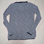 Лёгкий свитерок в мелкую полоску от Esmara. Размер евро С