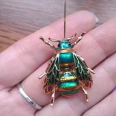 Забираем✓ Брошь насекомое
