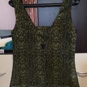 Легкая, новая блузочка-майка. Prettylittlething. P. 10/M.L