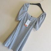 Платье в клеточку Zara (р.S)