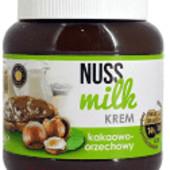 Вкусная крем-паста молочно-шоколадная или ореховая в стеклянной банке.Вес 400 грамм.Польша.