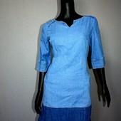 Качество! Натуральное легкое джинсовое платье от Joules в новом состоянии