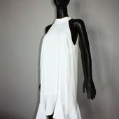 Качество! Белоснежное платье от River Island с ассиметничным низом, в новом состоянии