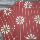 Плотные шторы из натуральной ткани на подкладке 2 шт.х135х187 см.