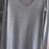 Нежный весенний серый свитерок. Италия