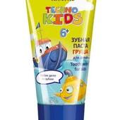 Детская зубная профессиональная паста 6+, вкус груши