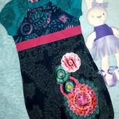 Супер красивое изумрудное платьице,на девочку 5-6 лет