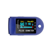 пульсометр Pulse Oximeter с гистограммой