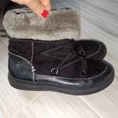 Деми ботинки на девочку 34размер 22см стелька