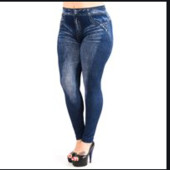 Демисезонные лосины отличного качества эмитация под джинсы!!Размер 48-54!Укр почта 5% скидка!