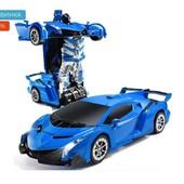 Радіокерована машинка-трансформер Glorous Mission Робот-трансформер масштаб 1:18 в инете 700 грн