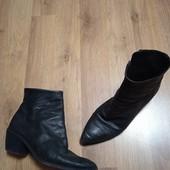 Стильные деми ботинки Кожа 40 р